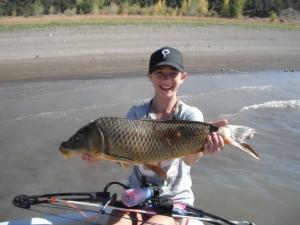 My first carp ever!